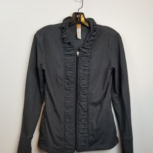 Lucy gray zip up athletic top size xs